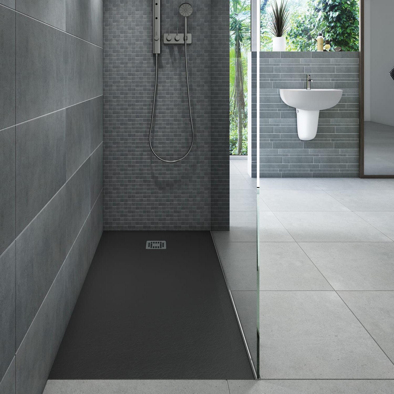 Rak Ceramics Feeling Rectangular Shower Tray 1200mm X 900mm Rfst090120s504 Shower Tray Black Shower Tray Shower Tray Ideas