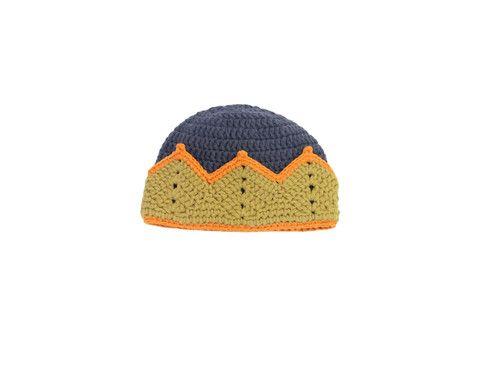 Hand Crochet Crown Hat