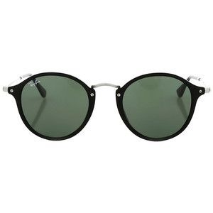 72ebc8e7f9 Ray-Ban Round Fleek Green Classic G-15