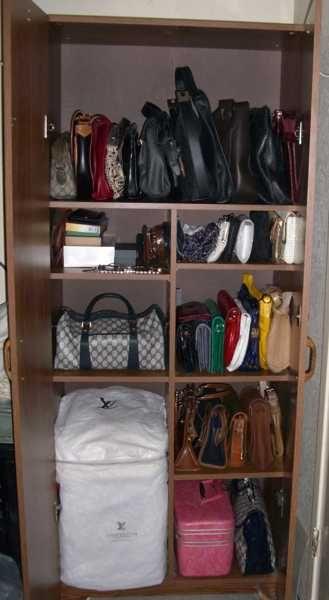 40 Handbag Storage Solutions And Home Organizers For Small Spaces Organize Closet Space Bag Storage Handbag Storage
