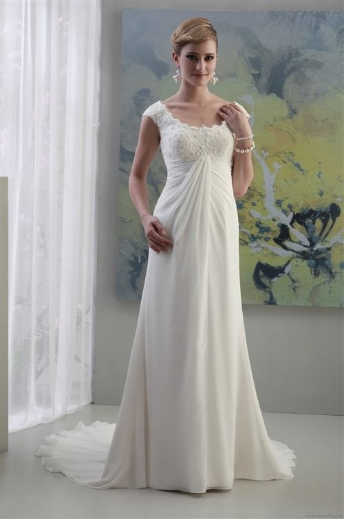 Pallas Athena (Ivory/White) Wedding Dress