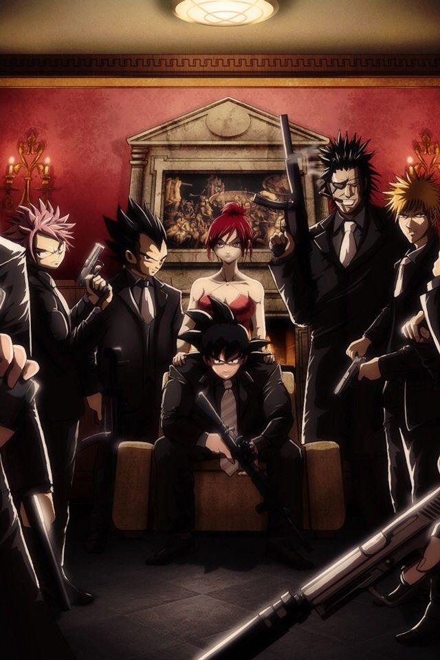 Mafia Art The Anime Mafia By Lonewolf1896 On Deviantart Anime
