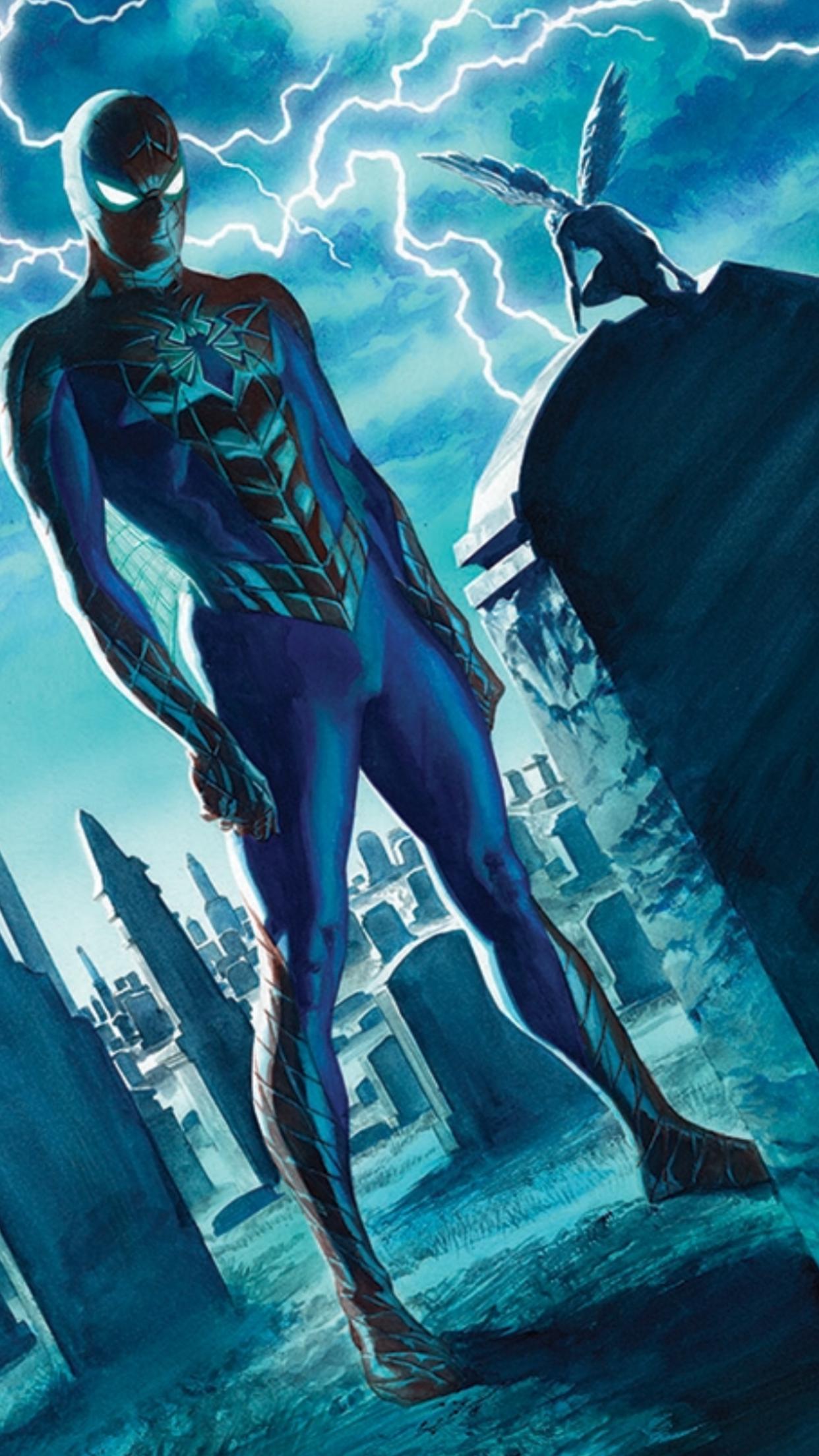 AMAZING SPIDER-MAN #1-10 Copies DAN SLOTT Camuncoli MARVEL, 2015 Alex Ross