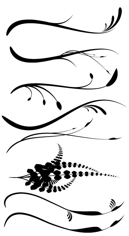 dagubi various brushes for illustrator free download