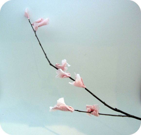 Dollar Store Crafts Blog Archive Make Faux Cherry Blossoms Cherry Blossom Branch Cherry Blossom Cherry Blossom Tree