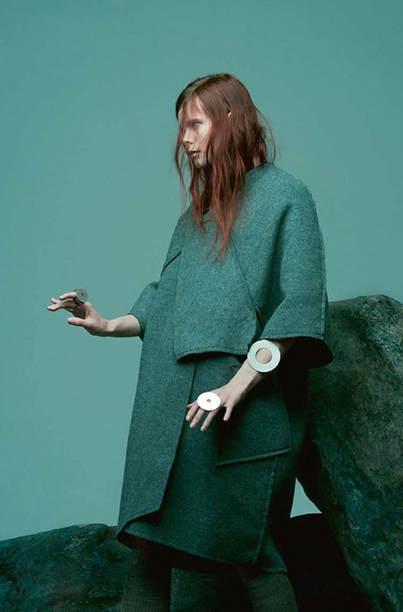 Irina Kravchenko by Paul Jungfor Bon Magazine, Autumn/Winter 2014