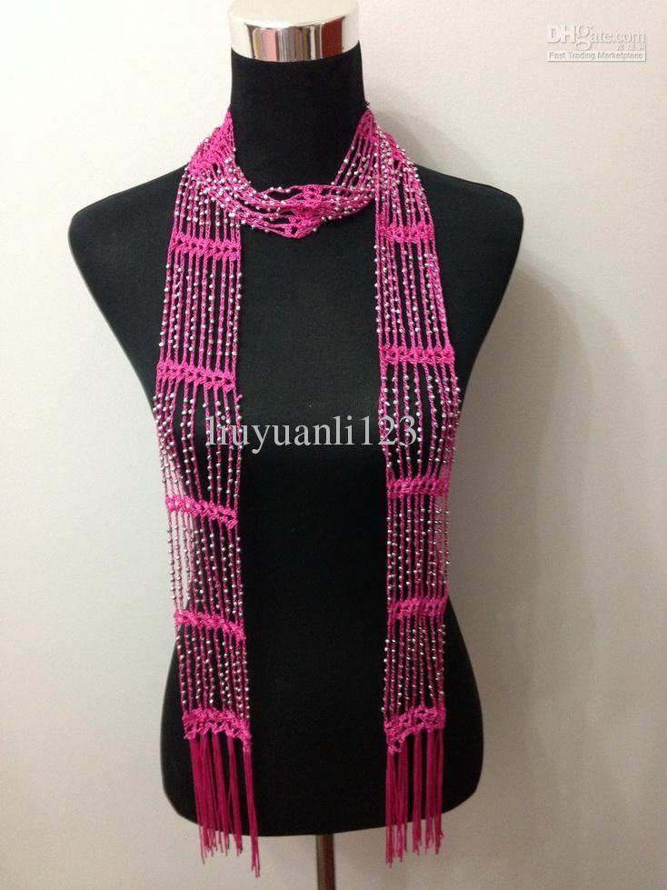 Luxury Beaded Crochet Scarf Pattern Gallery Blanket Knitting