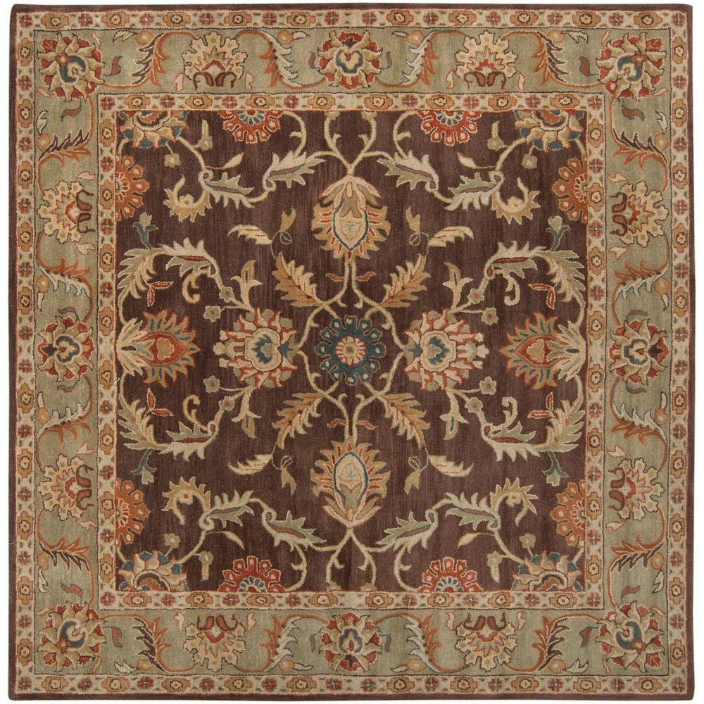 Artistic Weavers John Brown 4 Ft Square Area Rug Jhn 1009 The Home Depot
