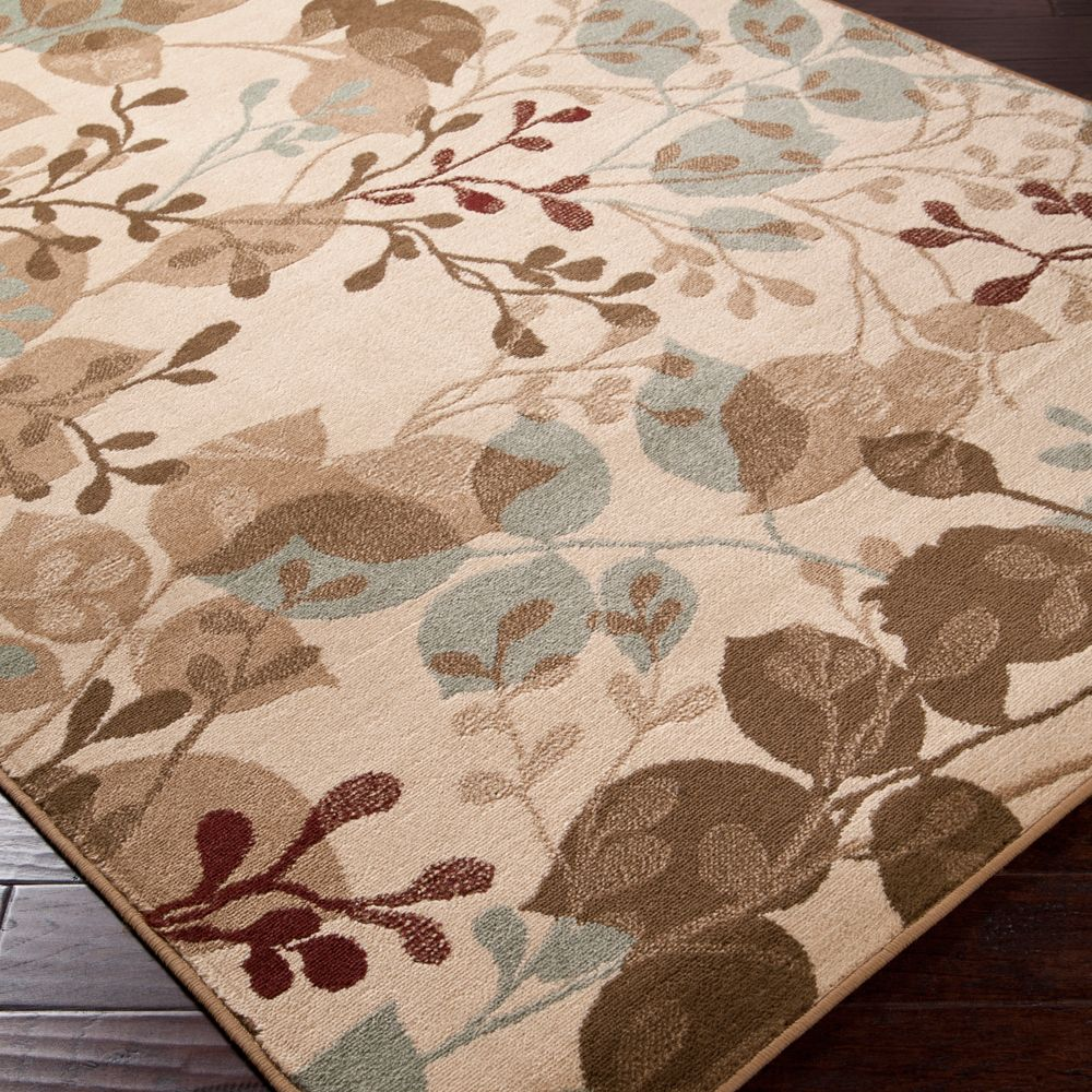 Rug Elegant Floor Decorating Ideas With Cool Overstock: Beautify Your Floors With This Elegant Beige Area Rug