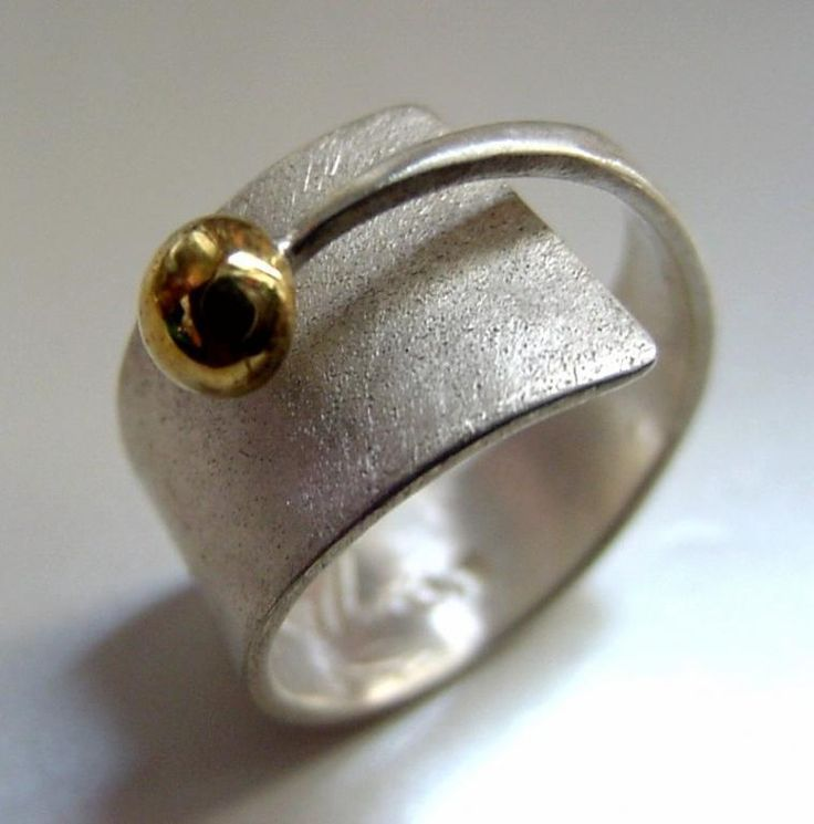 Photo of Author's ring – Atelier Glass – home-made jewelry … | Jewelry Diy – wedding ring of …