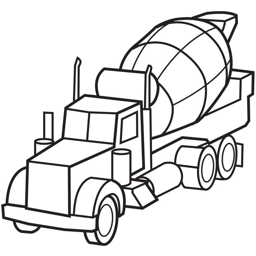cool coloring pages cars and trucks Free Download Colouring Pages - copy simple tractor coloring pages
