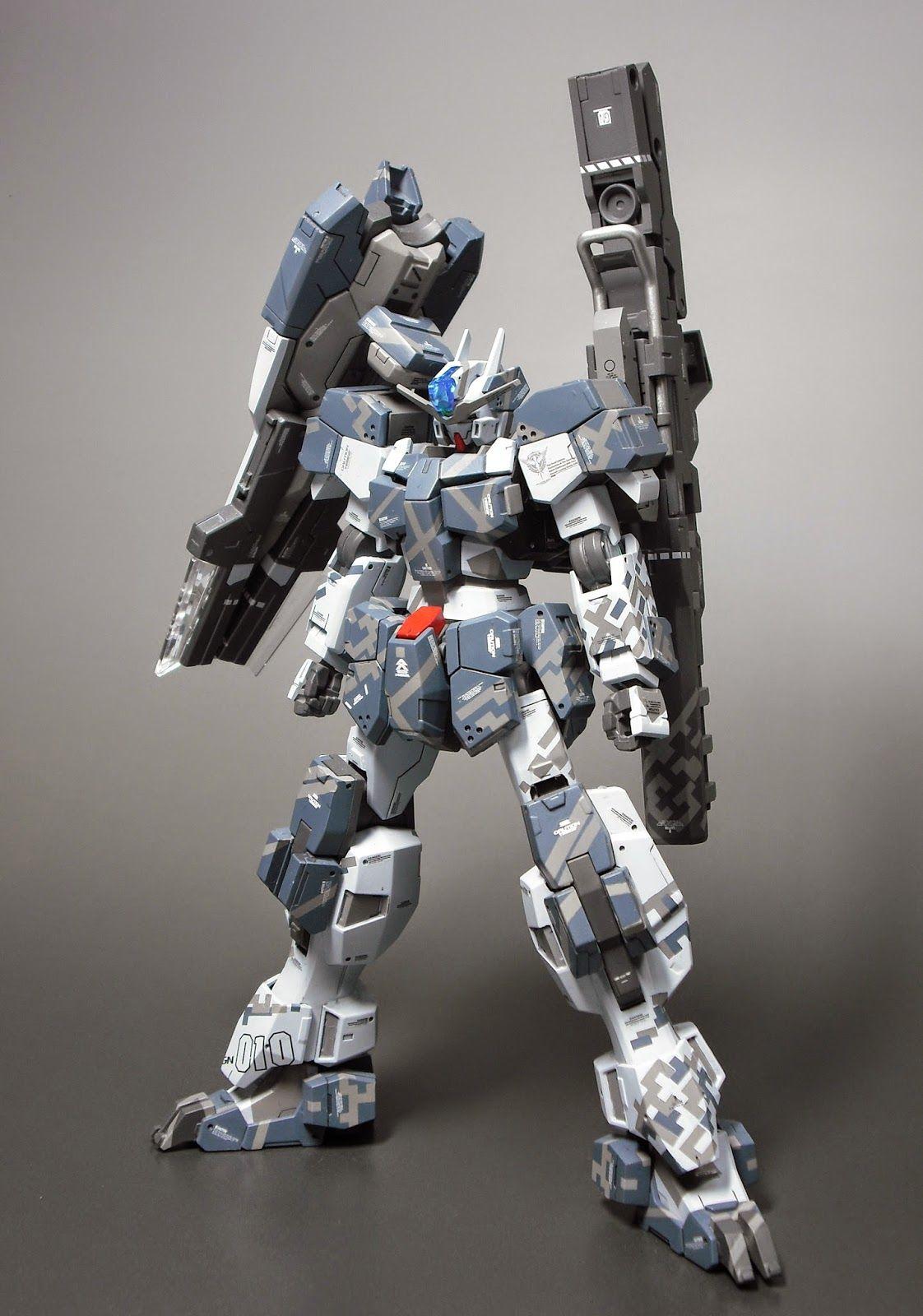 "Custom Build HG 1/144 Gundam Zabanya ""Urban Warfare ver"