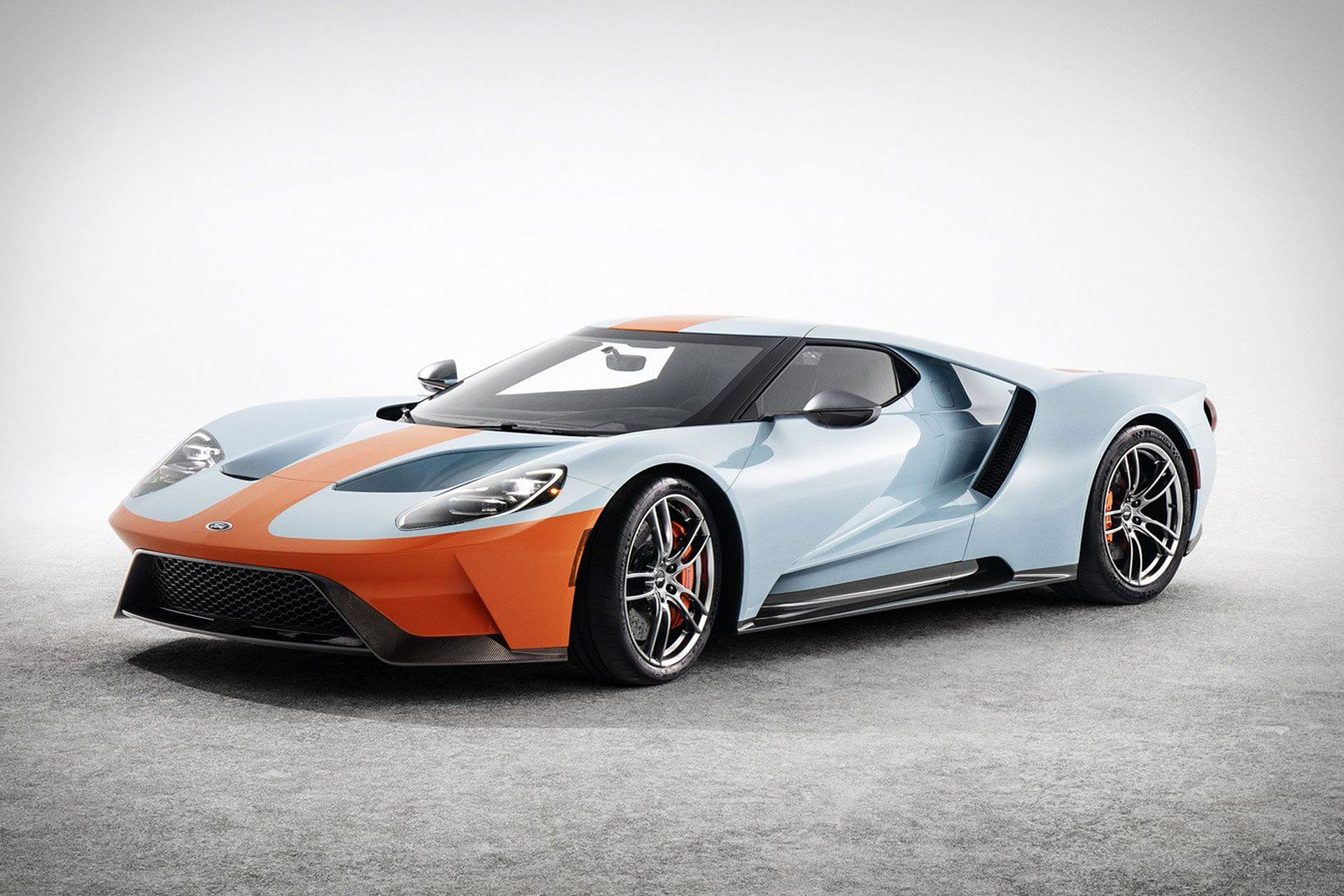 2019 Ford Gt Gulf Heritage Edition Vin 001 Ford Gt Gulf Ford Gt Ford Gt40