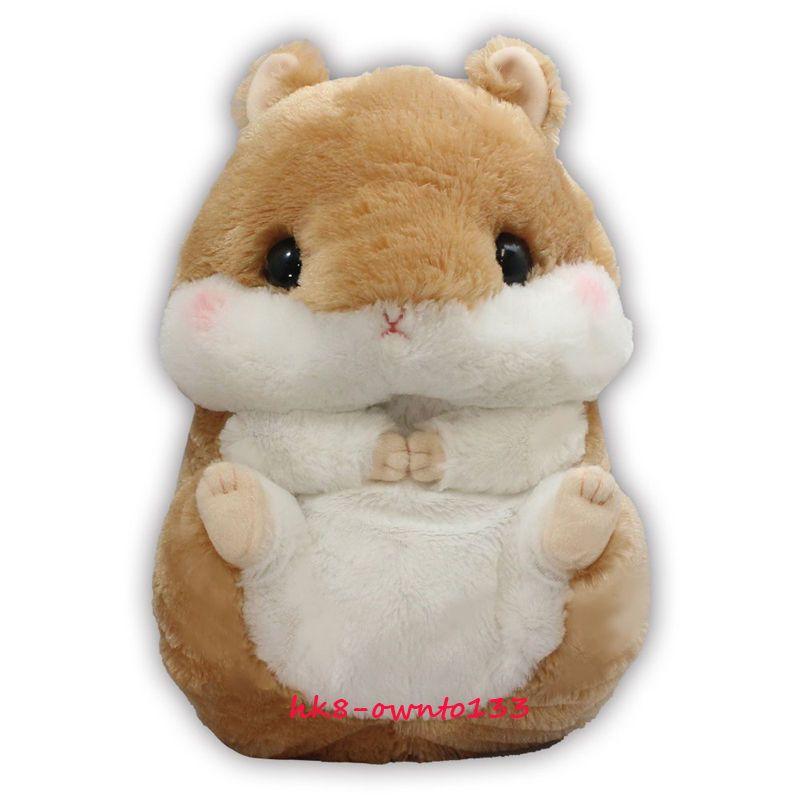 Big Amuse Coroham Coron Hamster Plush Doll Japan Soft Toy Kids