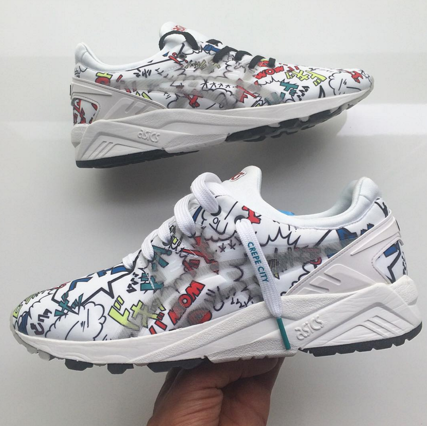 Asics Turned This Sneaker Into a Comic Book
