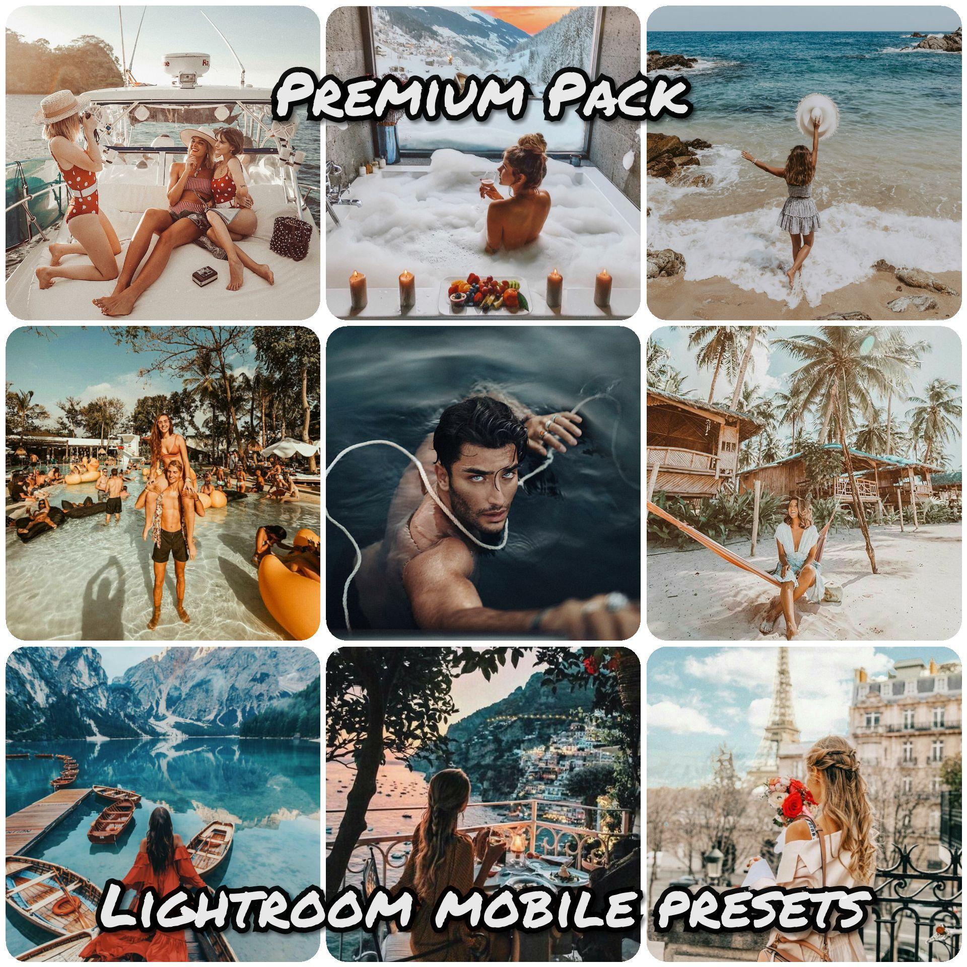 Premium Presets Pack For Lightroom Mobile Lightroom Presets Download Lightroom Best Free Lightroom Presets
