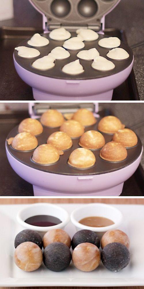 Chocolate Donut Hole Recipe For Cake Pop Maker