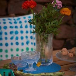 Photo of Lyngby Glass Vase 25 Burgundy