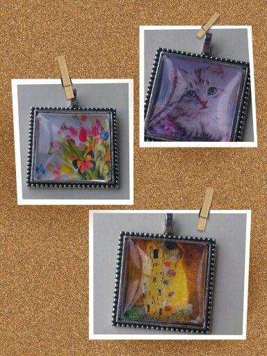 Colgantes personalizados con la imagen que más os guste. Handmade