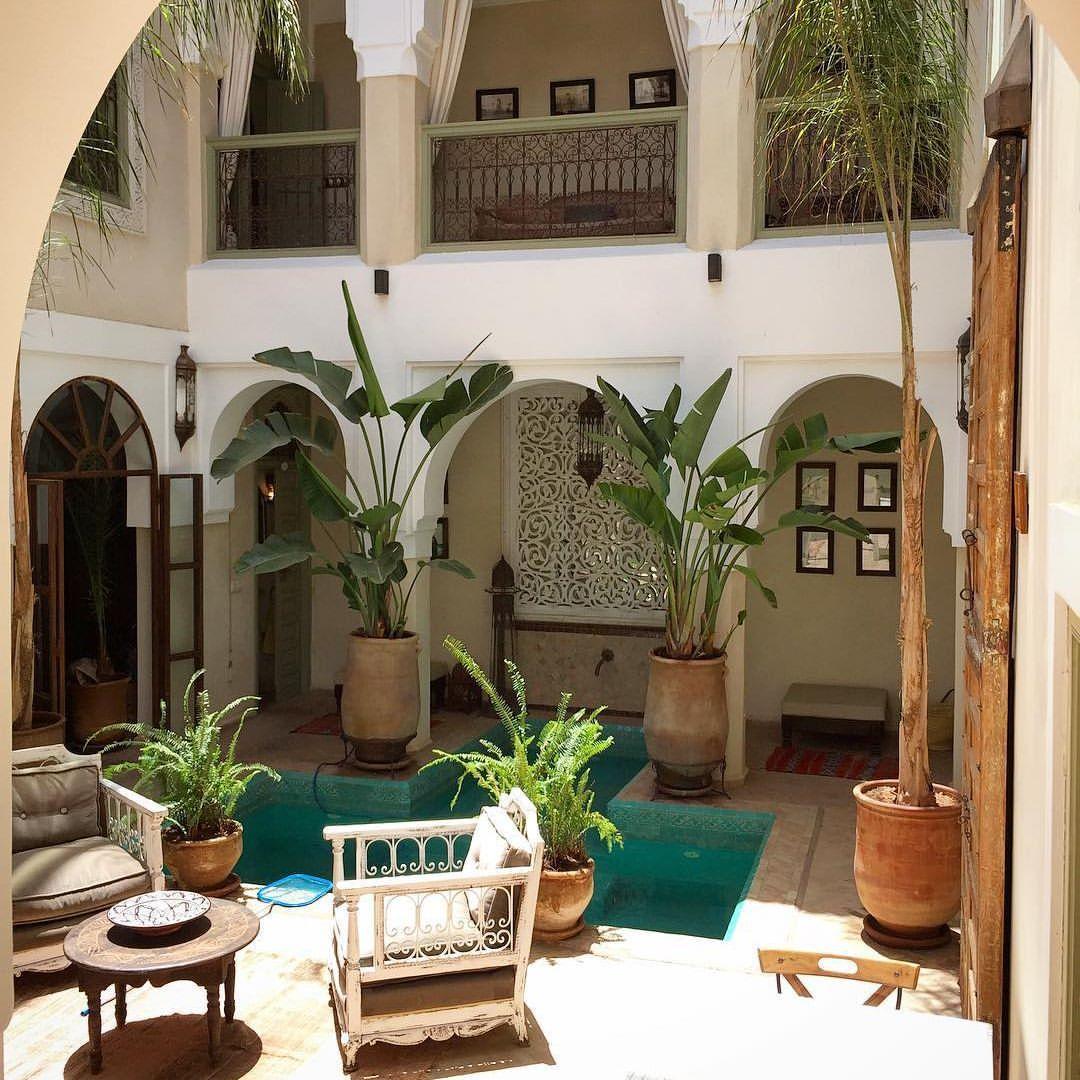Empezamos la semana, estamos seguros de que será fantástica 👌🏽 #patio #plantas #decoraconplantas #marrakech #marruecos #morocco #morocanstyle #smalluxuryhotels #instariad #instahotel #hotel #hotelesbonitos #vacacionestodoelrato #escapadamarroqui #escapadaromantica #escapada #luxury #lugaresconencanto #hotelessecretos 🌴www.palaciodelasespecias.com🌴  via ✨ @padgram ✨(http://dl.padgram.com)
