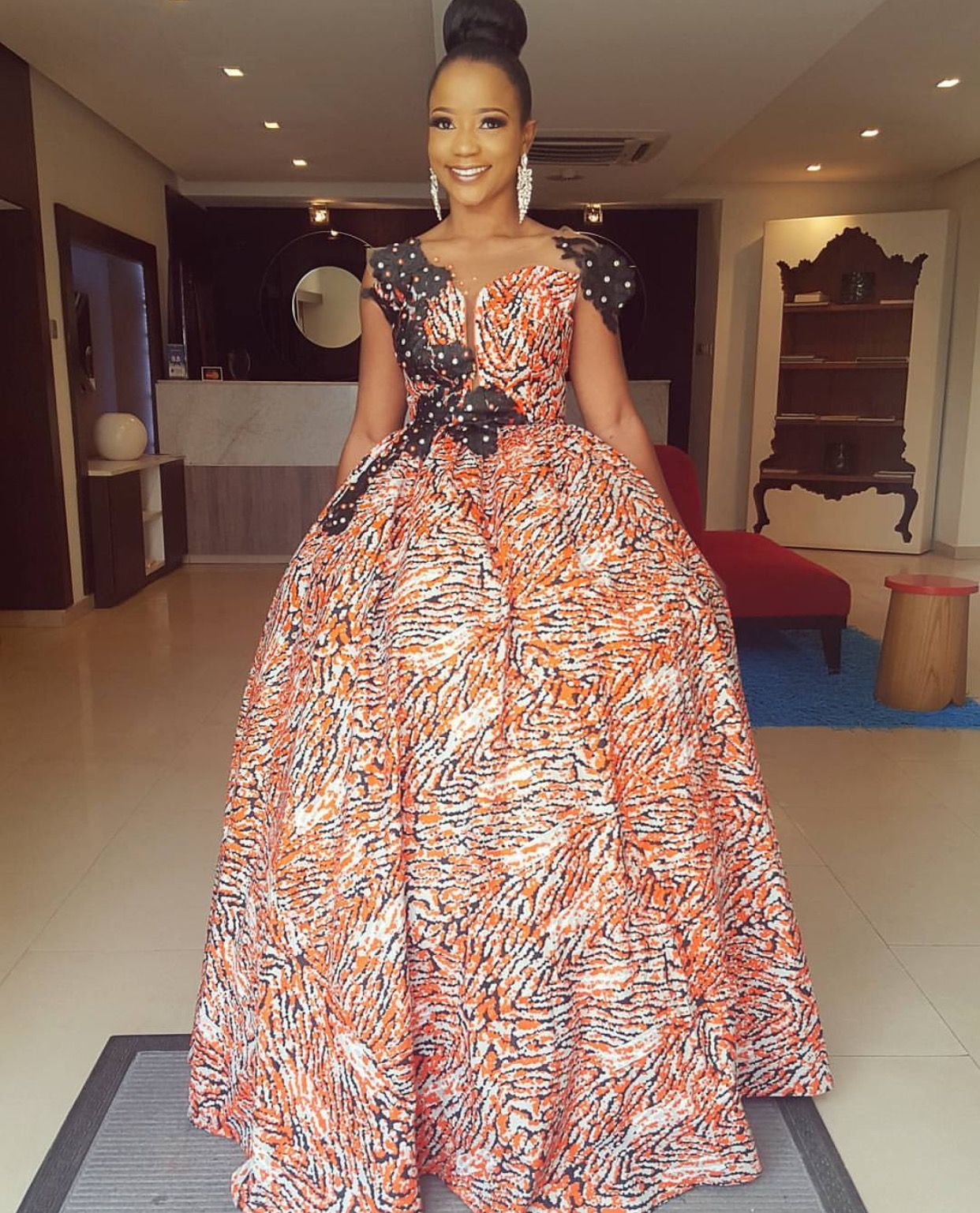 African print dresses for weddings  African fashion Nigerian fashion formal Ankara African prints