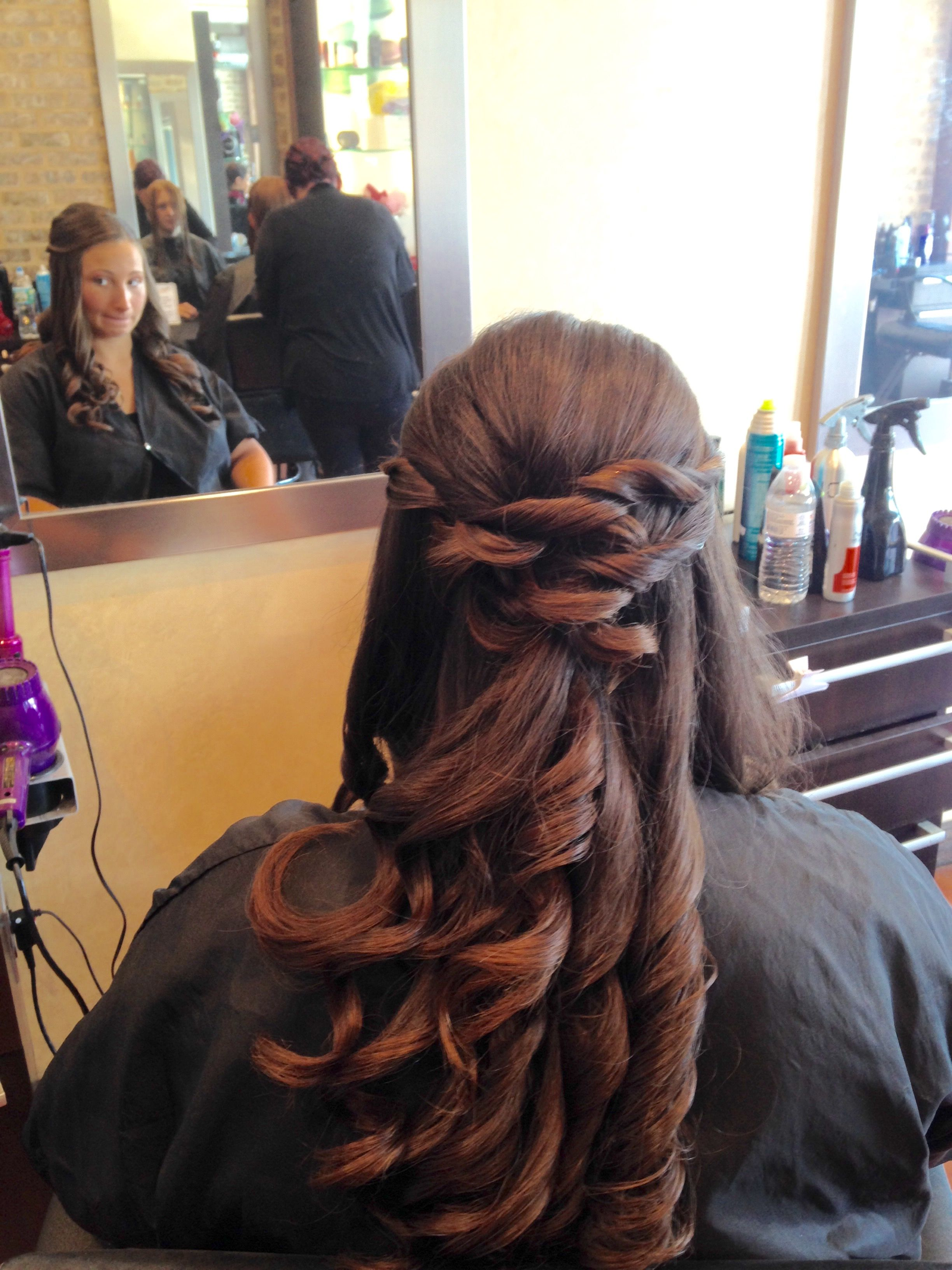 half up hair… | wedding hairstyles , sweet 16 , proms , my