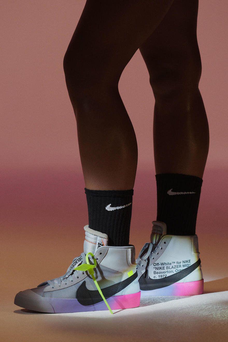Serena williams, Nike blazer