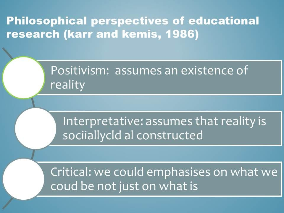 Philosophical Perspectives Of Qualitative Research Critical