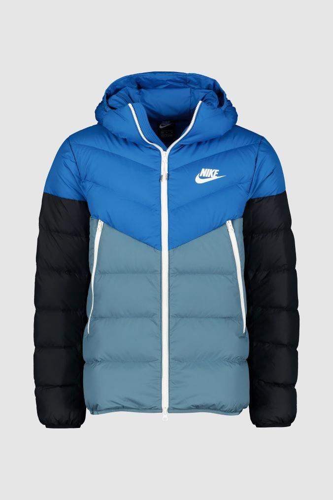 billig zu verkaufen großer Rabattverkauf ungeschlagen x Mens Nike Blue Down Fill Jacket - Blue   Products ...