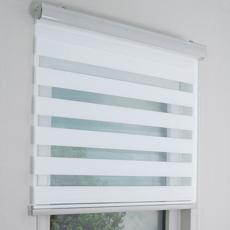 Moderne Wohnraumgestaltung Am Fenster Mit Doppelrollos In Fertiggrossen Oder Auch Als Massanfertigung Fensterrollos Rollos Rollo