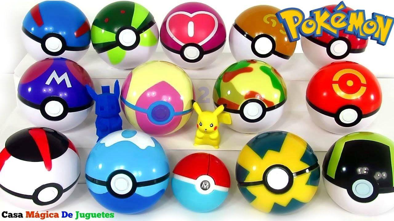 Pokebolas Sorpresa Pokémon Parte 2 Pokeballs o Pokebolas de Colores de V...