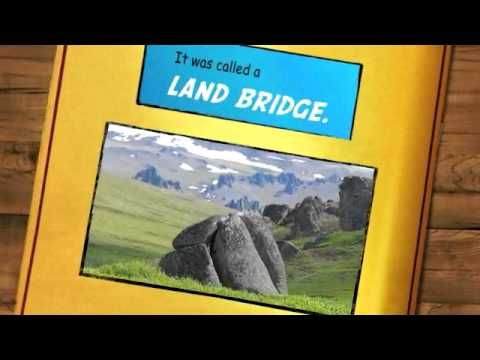 Comic - Land Bridge Theory, Ice Age, and Early Americans