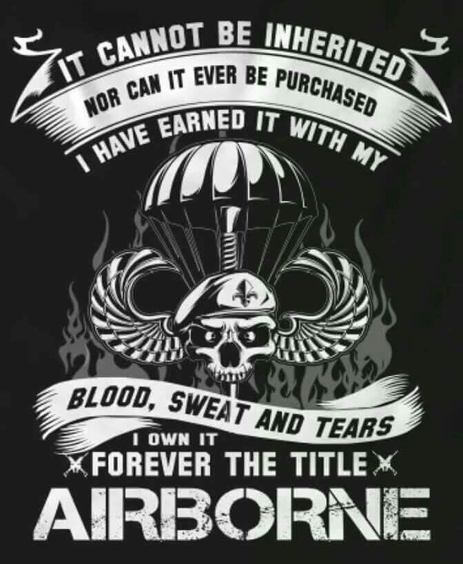 Airborne creed – Artofit