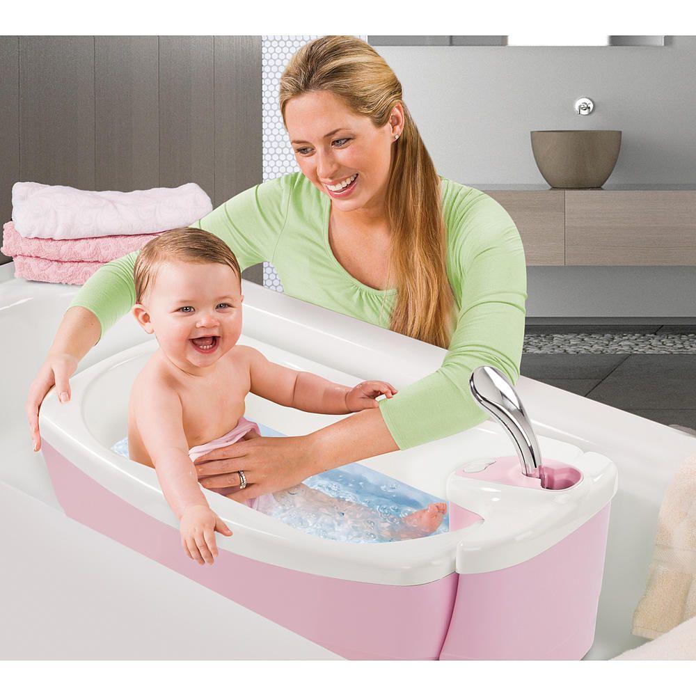 summer infant lil luxuries whirlpool spa shower pink summer infant babies r us. Black Bedroom Furniture Sets. Home Design Ideas