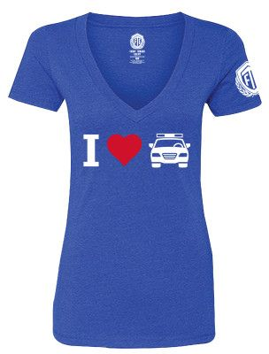 FTE_I HEART COP CAR_LADIES