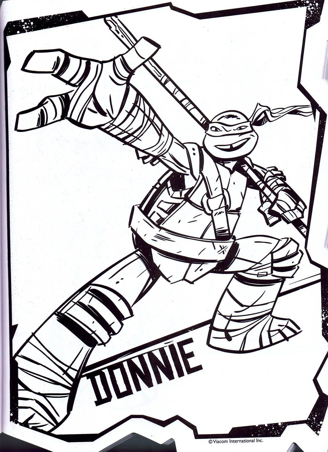 Donatello Ninja Turtle Coloring Page Youngandtae Com Turtle Coloring Pages Ninja Turtle Coloring Pages Cartoon Coloring Pages