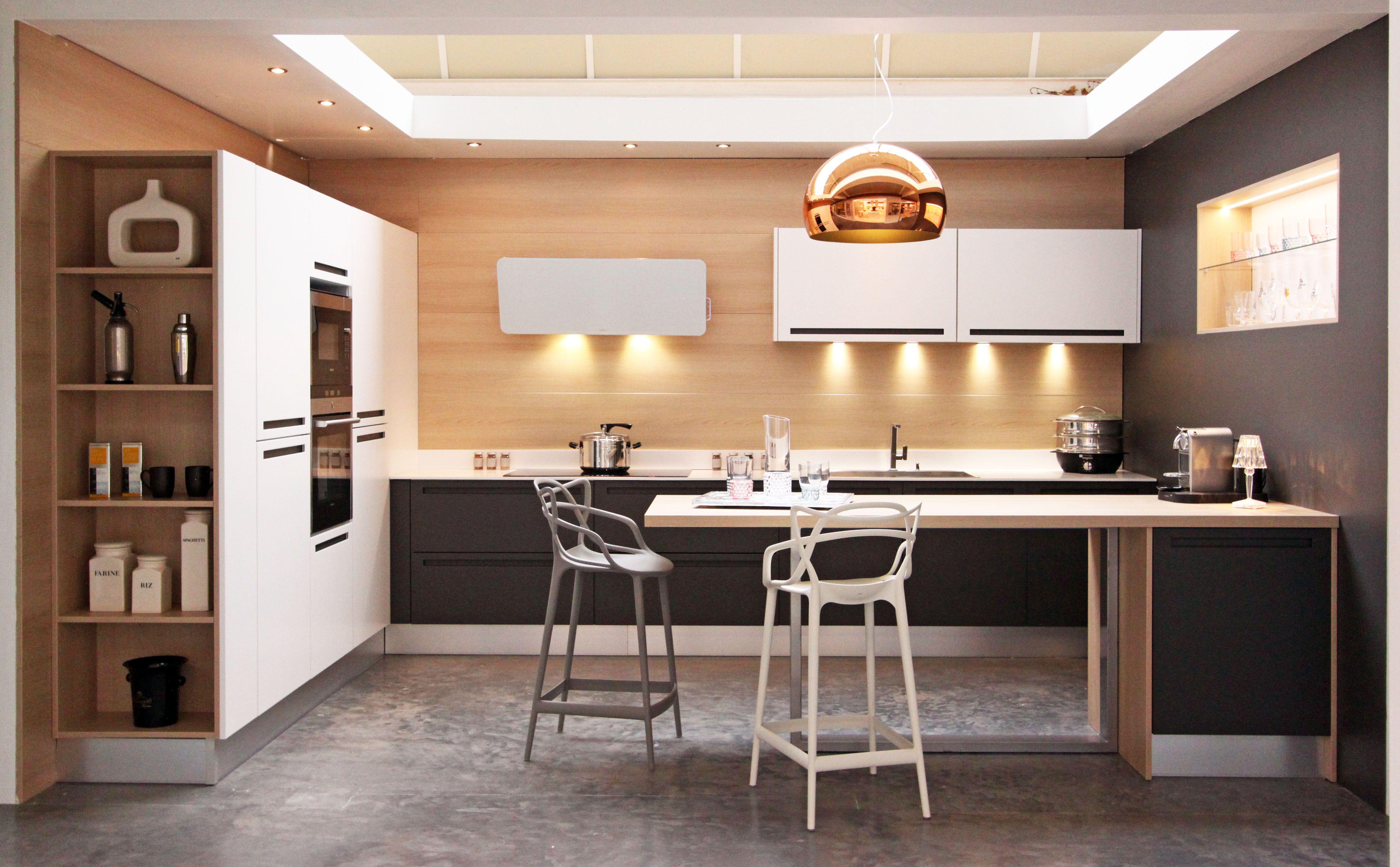 Cuisine Design Sans Poigne Fabrimeuble Fabrication