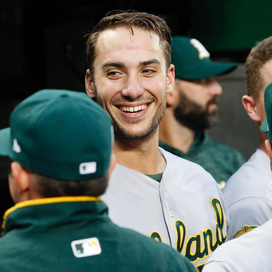 When Youre Named To Sportingnews Al All Star Team By Front Office Execs Congrats Matt Olson21 Rootedinoakland All Star Team Oakland Athletics Athlete