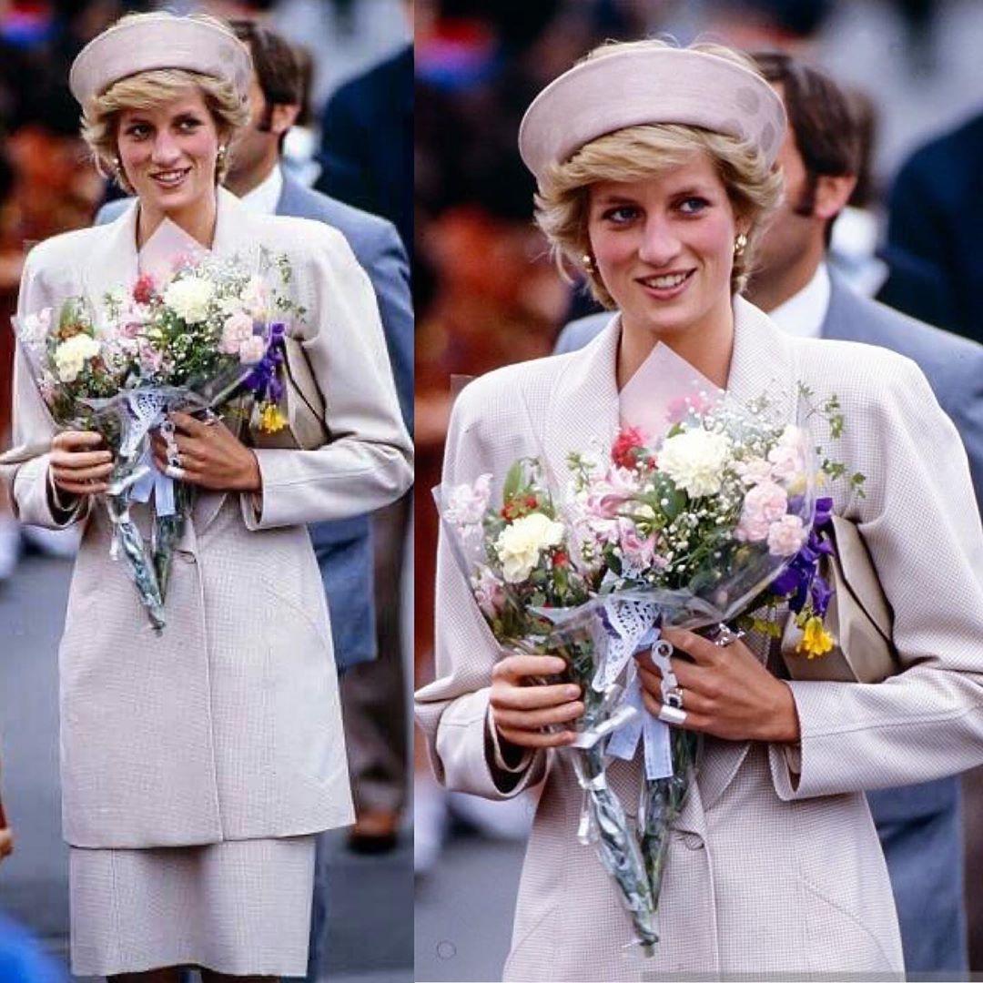 "Princess Diana Fan on Instagram ""Princess Diana visiting"