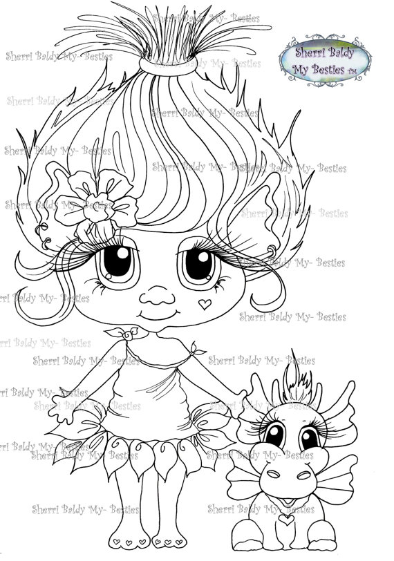 Sherri Baldy Digi Stamps You can adopt this Bestie