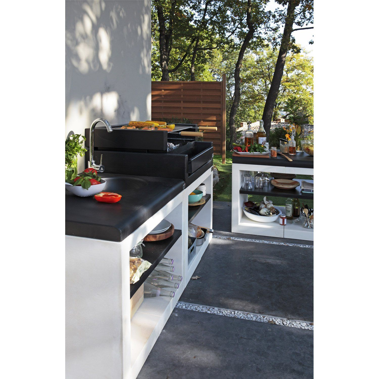 Barbecue Kitaway Grill L 63 X P 84 X H 101 Cm Leroy