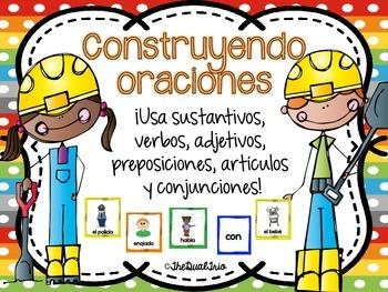building spanish sentences construyendo oraciones. Black Bedroom Furniture Sets. Home Design Ideas