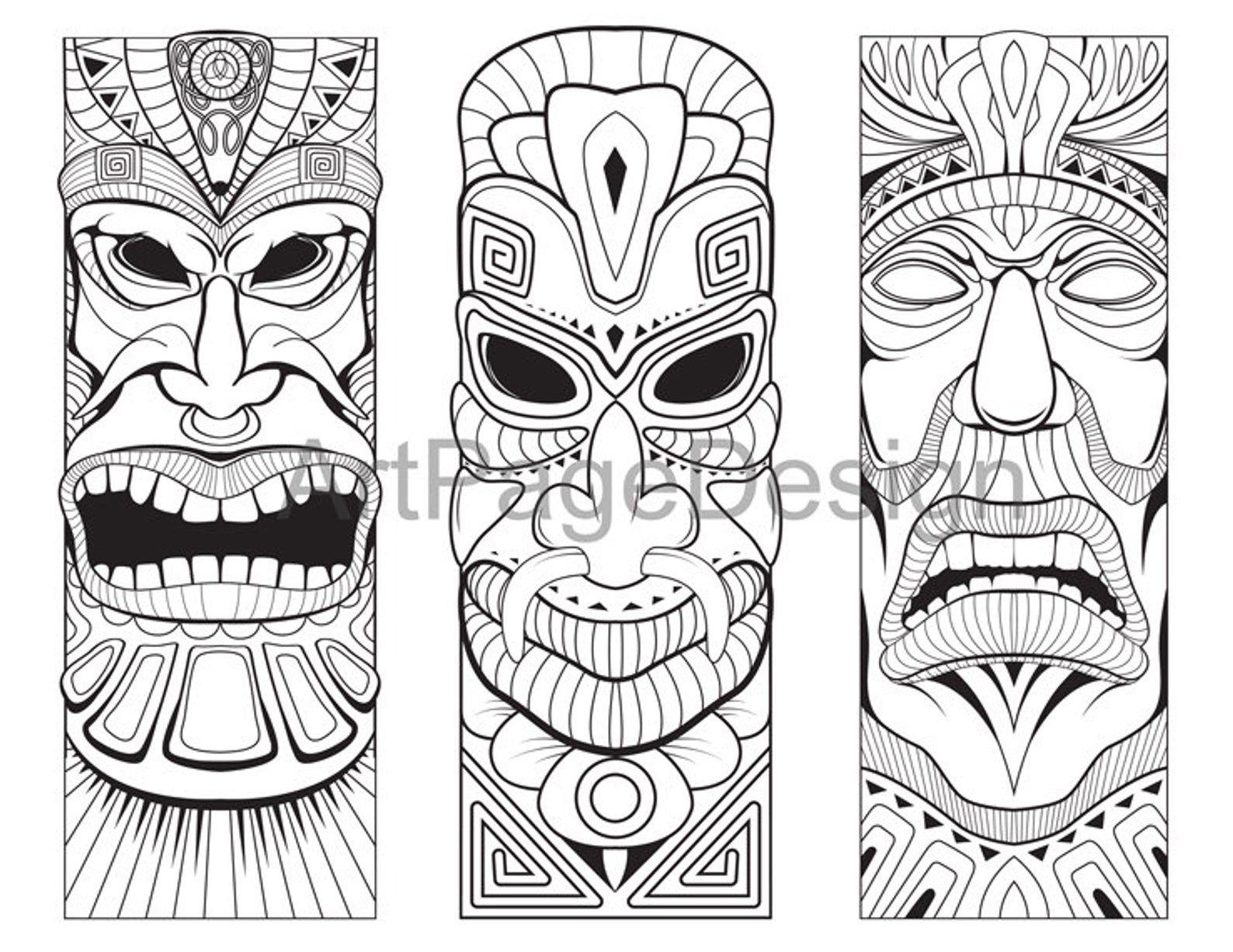 Pin By Judili Pipmit On Tiki Marquesan Tattoos Tiki Tattoo