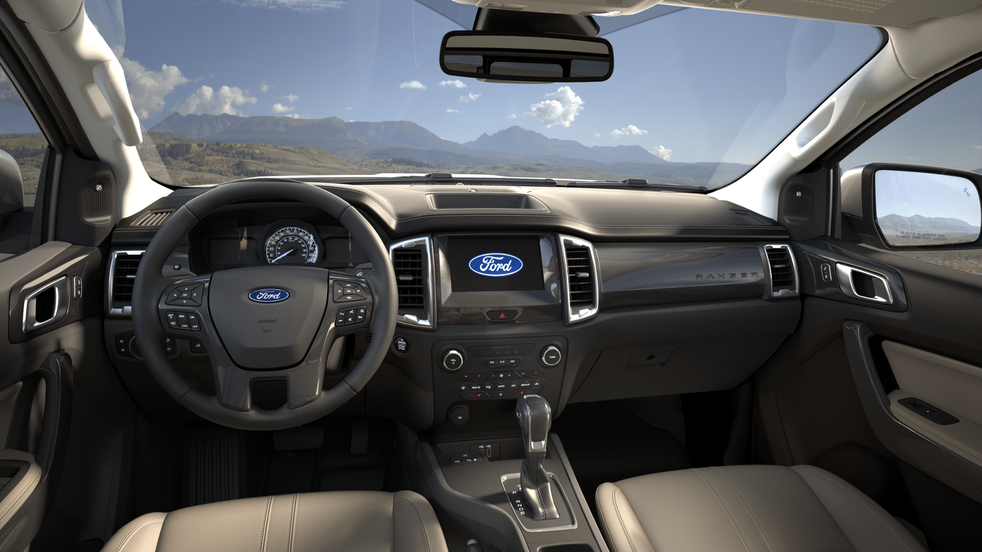 Interior View Of With Images Ford Ranger Interior Ford Ranger