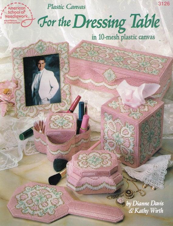 Shamrock Rug for Barbie Doll Plastic Canvas Pattern Leaflet 10 Mesh NEW