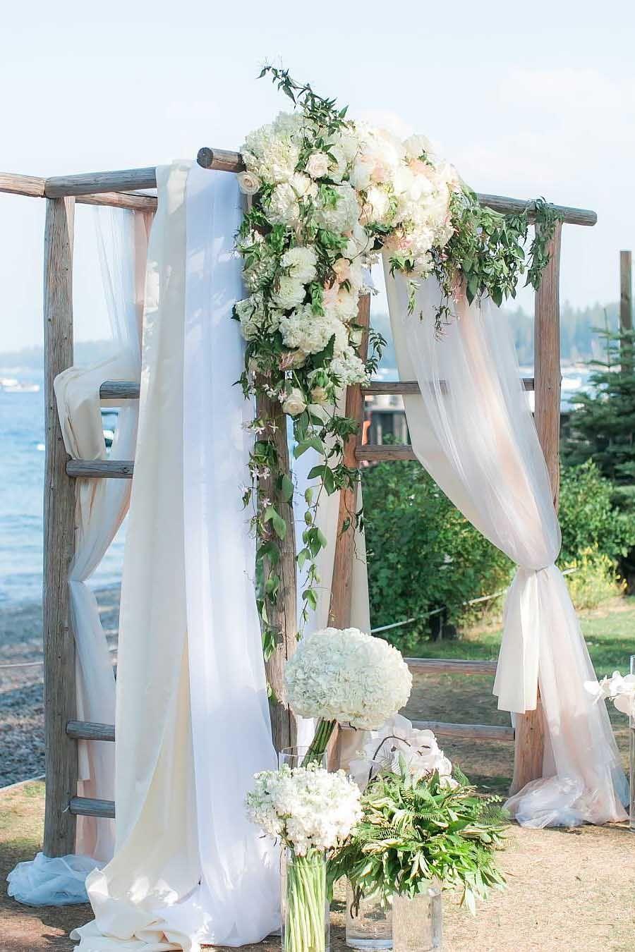 30 floral wedding arch decoration ideas ceremony arch arch and 30 floral wedding arch decoration ideas junglespirit Images