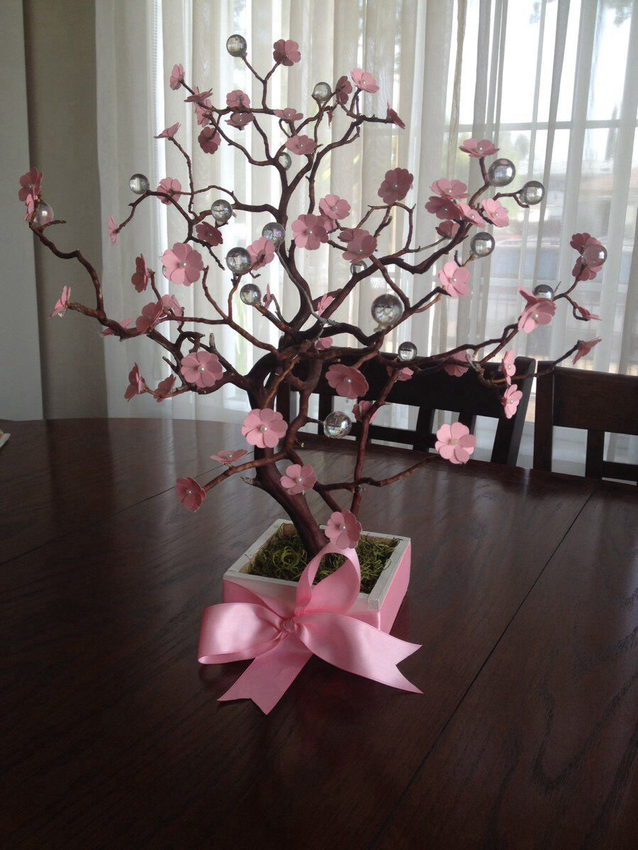 Cherry Blossom Manzanite Tree Centerpiece With By Divinecrafted