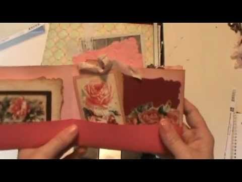 ▶ Make a pocket mini out of one 12 x 12 sheet of scrapbook paper - YouTube