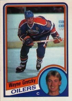 1984 1985 O Pee Chee 243 Wayne Gretzky Hockey Cards Wayne Gretzky Hockey
