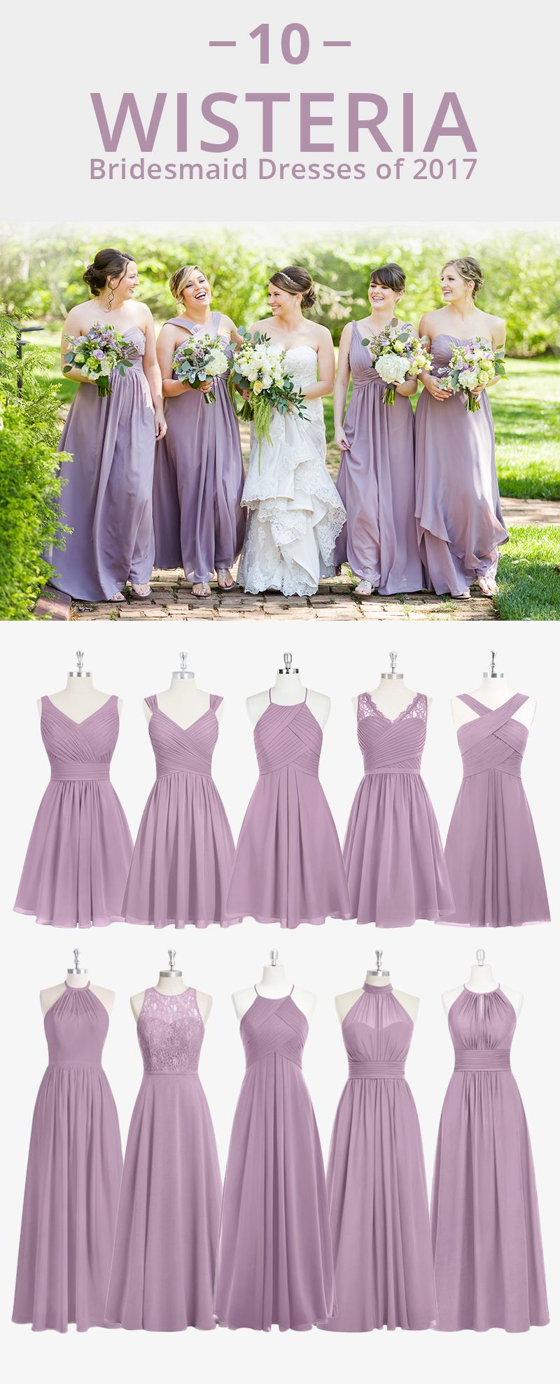 Dress Your Bridesmaid In This Romantic Soft Purple Available In Sizes 0 30 And Wisteria Bridesmaid Dresses Lilac Bridesmaid Dresses Wedding Bridesmaid Dresses